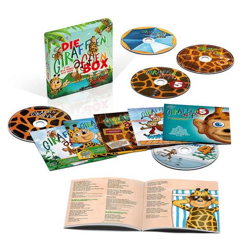 Die Giraffenaffen Box (Limitierte 5 CD Box) von Giraffenaffen - Boxset jetzt im Giraffenaffen Shop